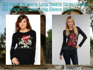 ED Hardy Womens Long Sleeve Shirts