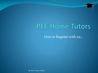 PEC Home Tutors