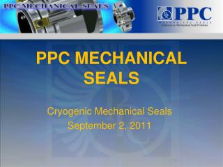 PPC MECHANICAL SEALS