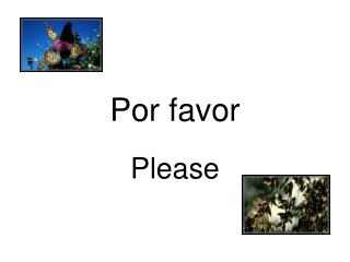 Por favor