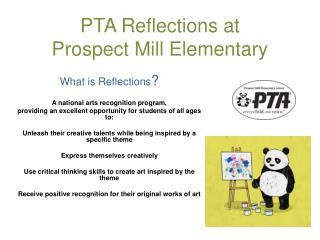 PTA Reflections at  Prospect Mill Elementary