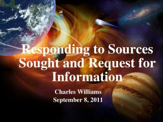 Responding to Sources Sought and Request for Information