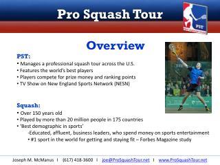 Pro Squash Tour