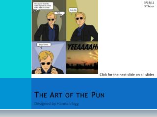 The Art of the Pun