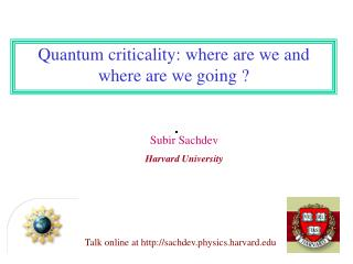 Talk online at sachdev.physics.harvard