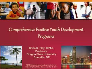 Comprehensive Positive Youth Development Programs
