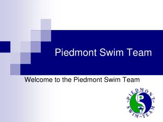 Piedmont Swim Team