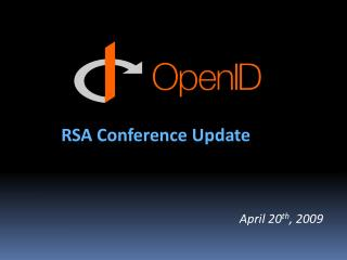 RSA Conference Update