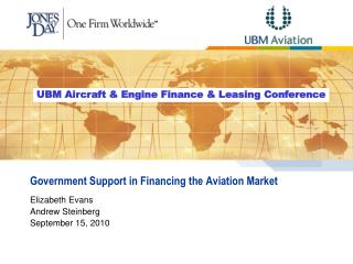 Government Support in Financing the Aviation Market