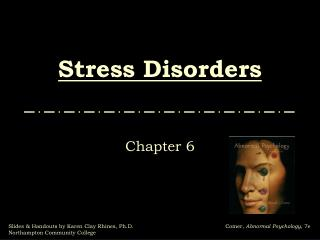 Stress Disorders