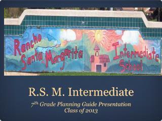 R.S. M. Intermediate