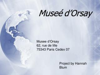Muse� d�Orsay