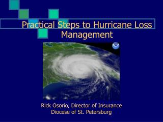 Practical Steps to Hurricane Loss Management