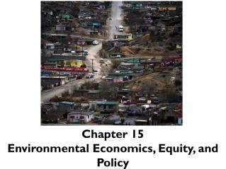 Chapter  15 Environmental Economics , Equity, and Policy
