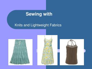 Sewing with