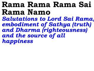 Ver06L Rama Rama Rama Sai Rama Namo