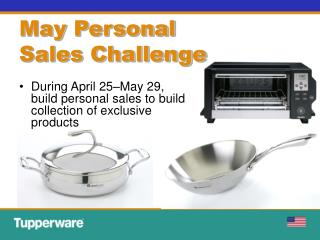 May Personal  Sales Challenge