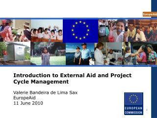 External aid context