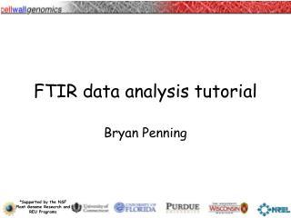 FTIR data analysis tutorial