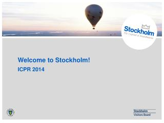 Welcome to Stockholm!
