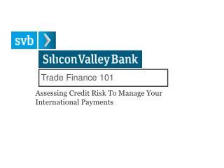 Trade Finance 101