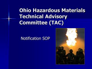Ohio Hazardous Materials Technical Advisory Committee (TAC)