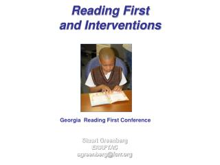 Reading First  and Interventions