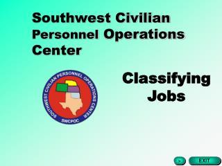 Southwest Civilian  Personnel  Operations Center