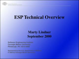 ESP Technical Overview