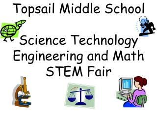 Topsail Middle School  Science Technology Engineering and Math STEM Fair