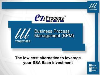 Business Process Management BPM