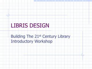 LIBRIS DESIGN