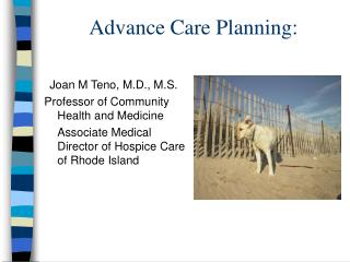Advance Care Planning: