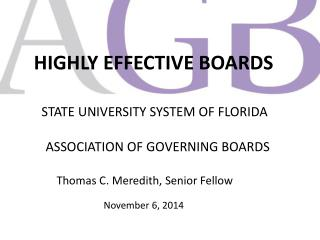 HIGHLY EFFECTIVE BOARDS