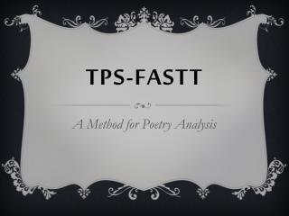 TPS-FASTT