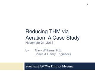 Southeast AWWA District Meeting