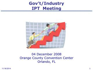 Gov't/Industry  IPT  Meeting