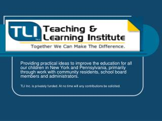 Teaching and Learning Institute