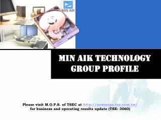 Min Aik technology  group profile