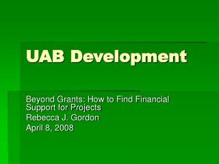UAB Development