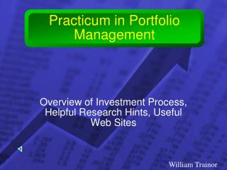 Practicum in Portfolio Management