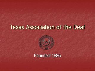 Texas Association of the Deaf