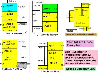 112-114 Ferris Place Floor plan