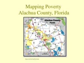 Mapping Poverty  Alachua County, Florida