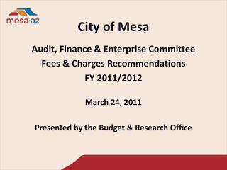 City of Mesa