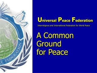 Ambassadors for Peace