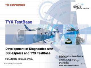TYX TestBase