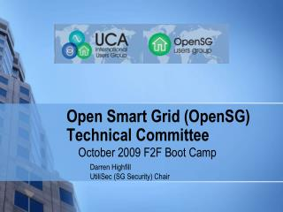 Open Smart Grid (OpenSG) Technical Committee