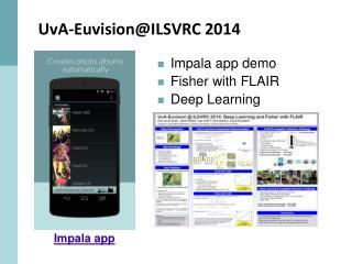 UvA-Euvision@ILSVRC  2014