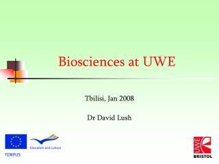 Biosciences at UWE